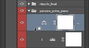Icona del layer clipping.
