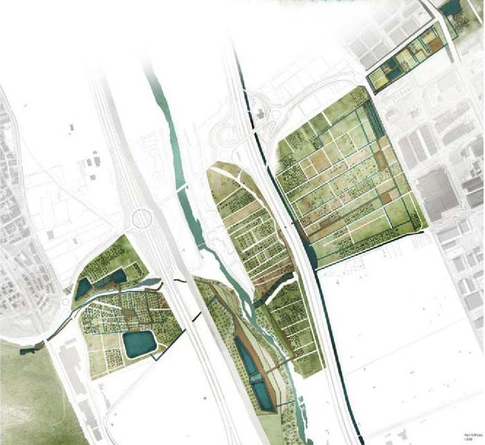 GR92 Crosses the Llobregat di Elisabetta Sanna - Masterplan