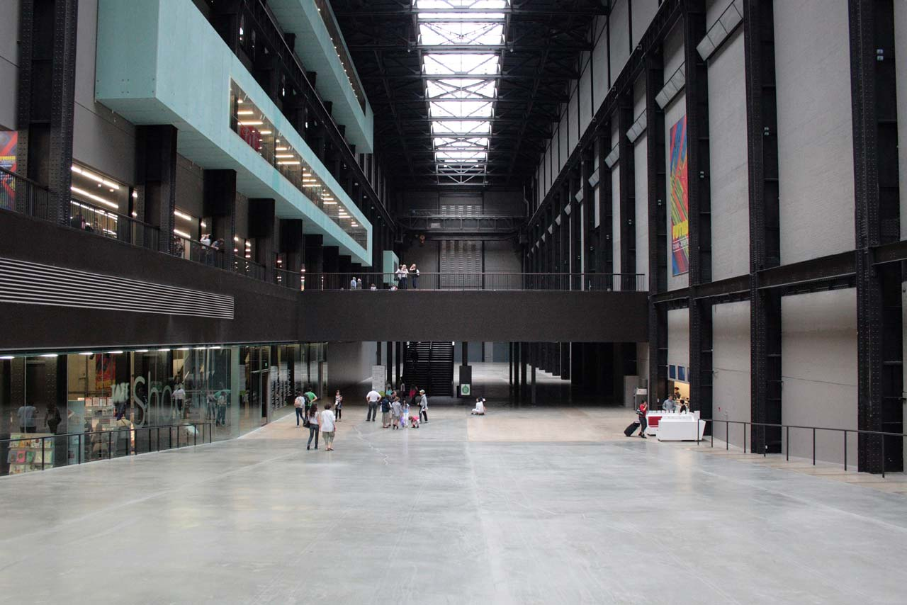 Turbine Hall, Tate Modern - foto di Paul Simpson.
