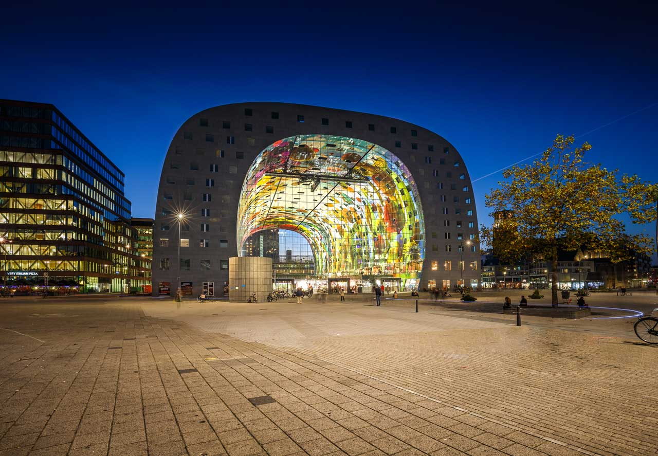 Markthal, Rotterdam - foto di Tom Roeleveld.