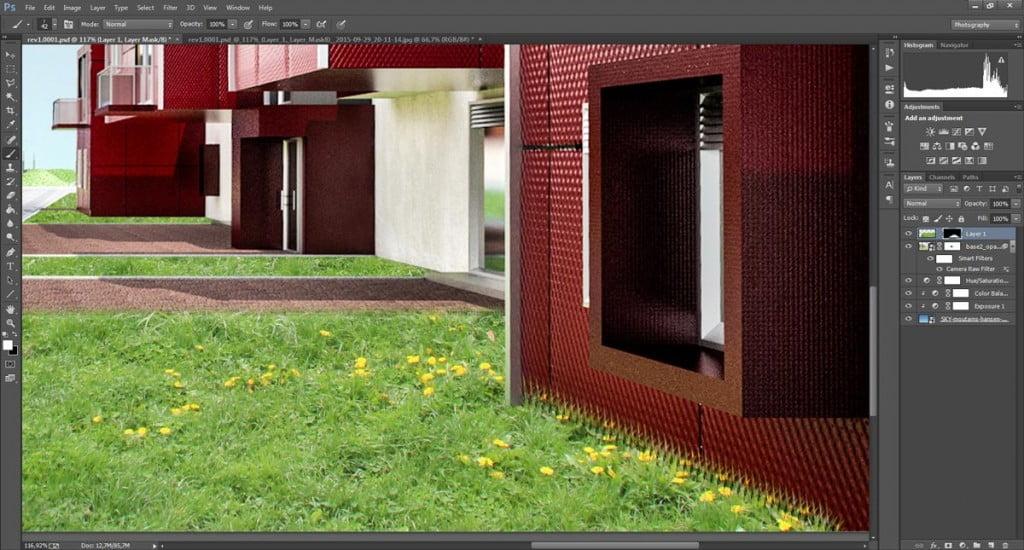 Simulare l'erba con Photoshop - come NON usare i pennelli d'erba!