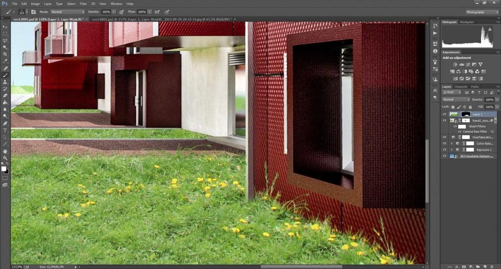 Come variare i ciuffi d'erba con Photoshop.