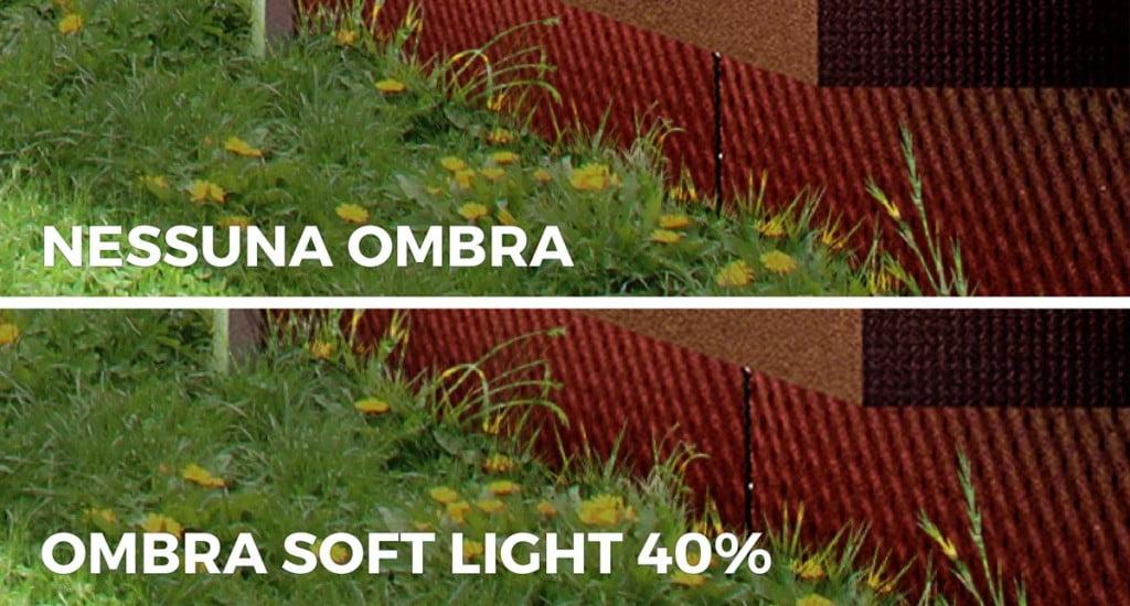 Aggiungere ombre proiettate all'erba in Photoshop