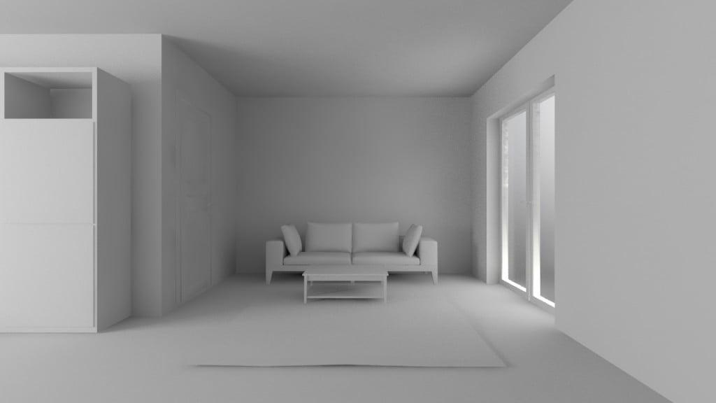 La luce non attraversa il vetro: uno dei problemi V-Ray più semplici da risolvere.