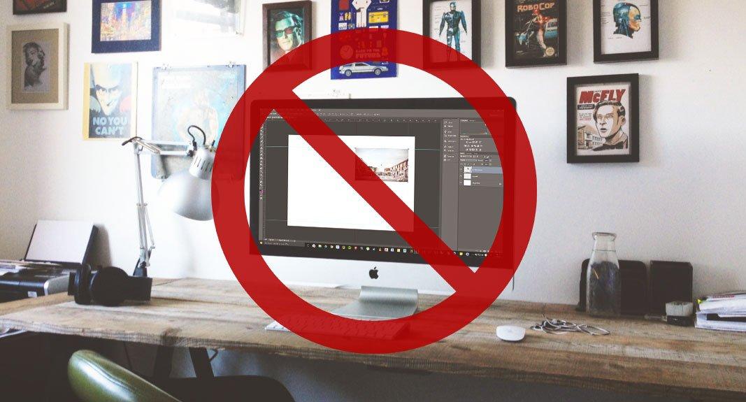Mai usare Adobe Photoshop per impaginare un portfolio di architettura!