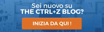 Nuovo su The CTRL+Z Blog? Inizia da qui!