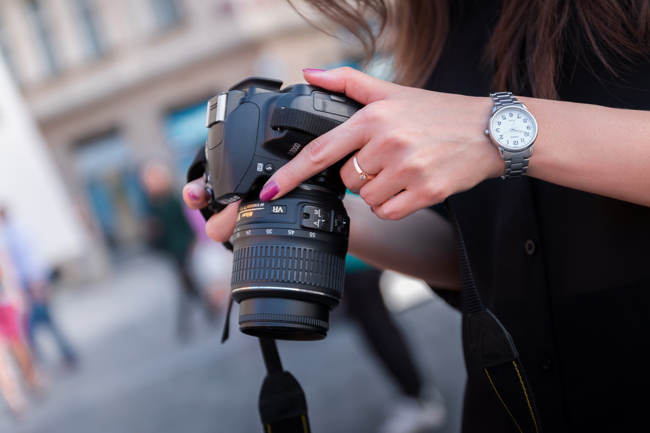 Porta sempre con te una fotocamera per immortalare atmosfere e collezionare assets