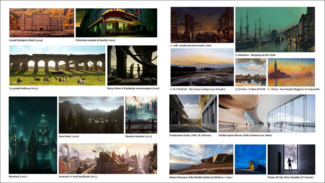 Film, concept art, videogiochi, pittura: l'ispirazione per un render di esterni può trovarsi dove meno te l'aspetti!