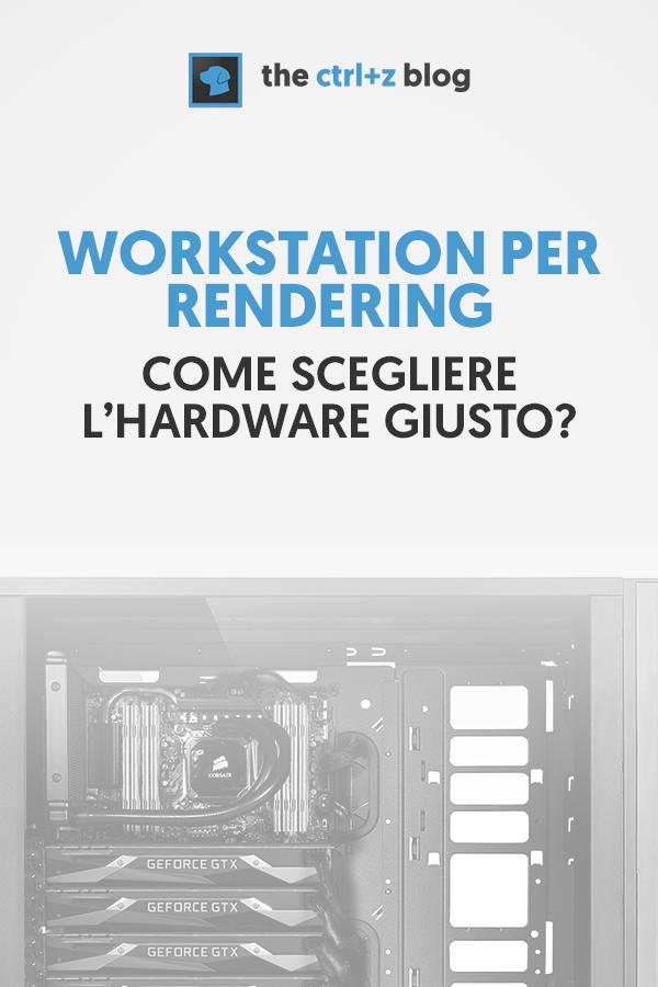 CPU, GPU, RAM, VRAM... mamma mia che confusione! Quest'articolo è dedicato a te che ti occupi di rendering... ma sei a digiuno di hardware! Scopriamo come creare la macchina perfetta per le tue esigenze.