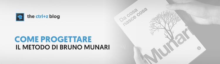 Come progettare: il metodo di Bruno Munari