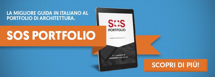 Scopri SOS Portfolio, la prima guida in italiano al portfolio di architettura!